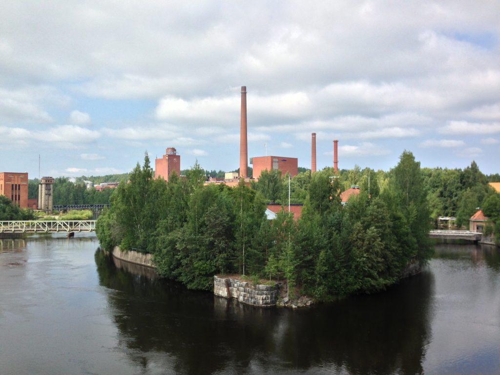 Завод в г.Нокиа