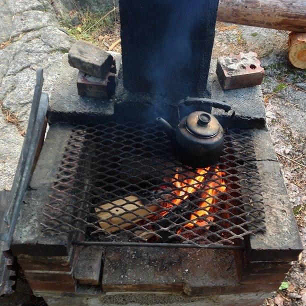 Печь в Лааву