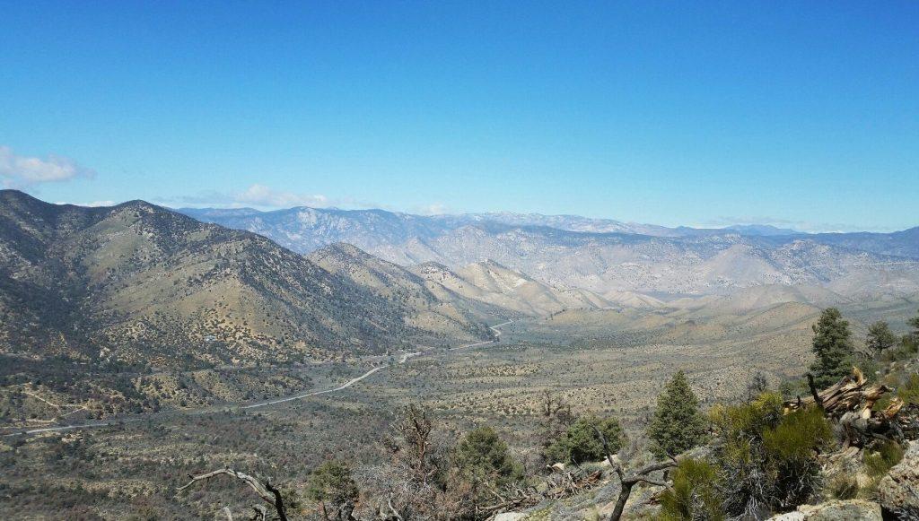 перевал Walker Pass